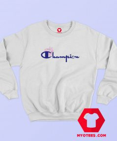 Champion Vintage Logo Collab Peppa Pig Sweatshirt