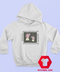 Fancy Peppa Pig GC Logo Parody Gucci Funny Hoodie
