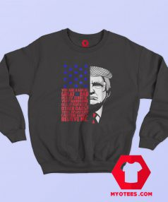 Funny Great Dad Donald Trump Sweatshirt