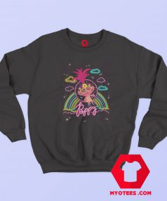Funny Trolls World Tour Neon Poppy Sweatshirt