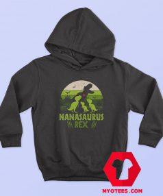 Nanasaurus Rex Mothers Day Graphic Hoodie