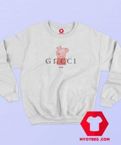 Peppa Pig Gacci Pink Funny Sweatshirt