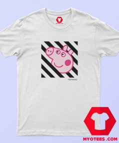 Peppa Pig Pecs x OFF White Collab T Shirt