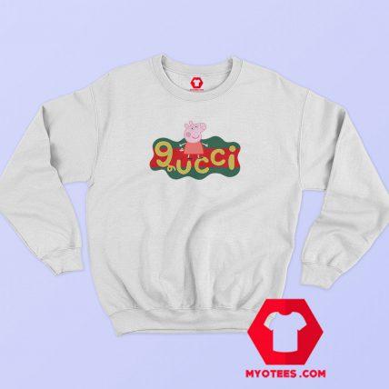 Peppa Pig X Gucci Logo Replica Sweatshirt