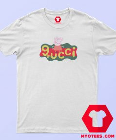 Peppa Pig X Gucci Logo Replica T Shirt