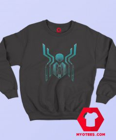 Spider Man Far From Home Logo Graphic Sweatshirt