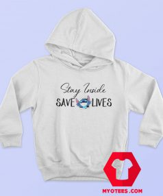 Stitch Stay Inside Save Lives Hoodie