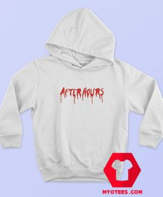 The Weekend After Hours Blood Drip Hoodie