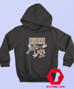 Tom and Jerry Gucci Logo Vintage Hoodie