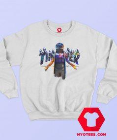 Travis Scott Fortnite Astronomical Thrasher Parody Sweatshirt