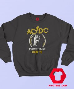 ACDC Powerage Tour 1978 Sweatshirt