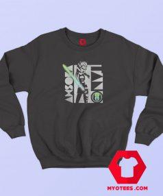 Clone Wars Ahsoka Light Saber Hoodie Sweatshirt