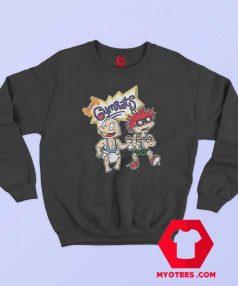 Funny Gymrats Rugrats Parody Lifting Sweatshirt
