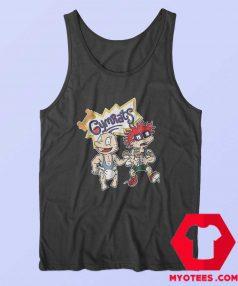 Funny Gymrats Rugrats Parody Lifting Tank Top