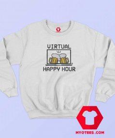 Happy Hour Virtual Graphic Sweatshirt