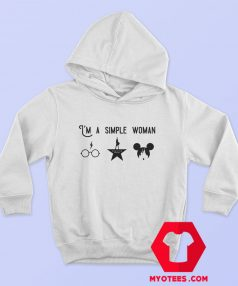 I'm A Simple Woman Graphic Hoodie