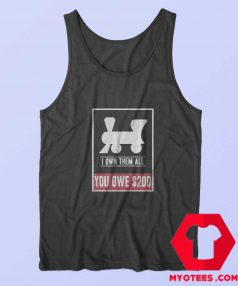 Monopoly Own All Railroads Unisex Tank Top