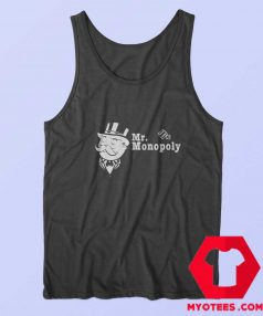 Monopoly Uncle Pennybags Portrait Tank Top