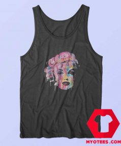 Pop Art Marilyn Monroe Face Unisex Tank Top
