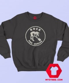 Rock For Choice Vintage Nirvana Kurt Cobain Sweatshirt