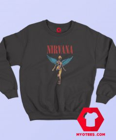 Vintage Nirvana Angelic Graphic Sweatshirt
