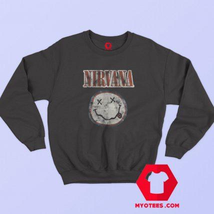 Vintage Nirvana Distressed Logo Unisex Sweatshirt