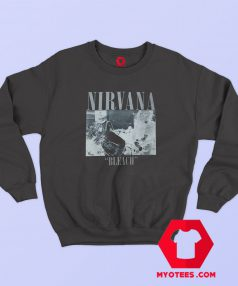 Vintage Rare Nirvana Bleach Kurt Cobain Sweatshirt