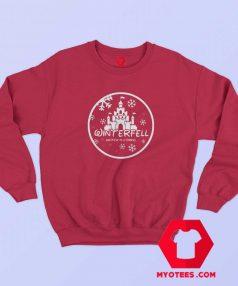 Winterfell Parody Logo Winter Is Coming Sweatshirt
