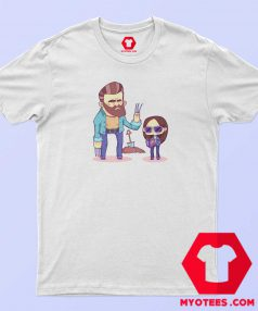 Wolverine Logan and Laura Cartoon T Shirt