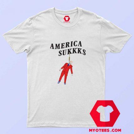 America Sukkks Unisex T shirt On Sale