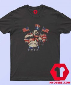 American Flag Day The Goonies and Falcor Freedom T shirt