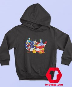 American Flag Independence Day Disney Hoodie