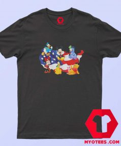 American Flag Independence Day Disney T shirt