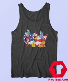 American Flag Independence Day Disney Tank Top