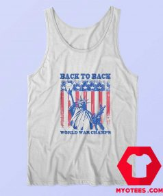 Americas Back To Back World War Champs Tank Top