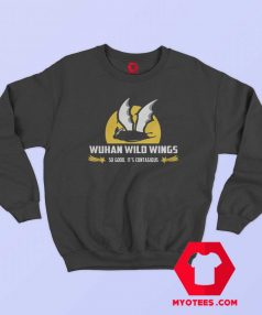 Bat Wuhan Wild Wings Unisex Sweatshirt