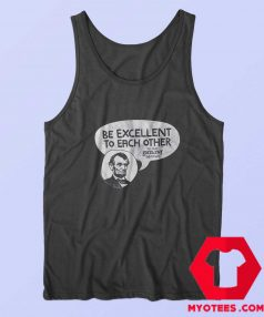 Be Excellent Bill and Ted Unisex Tank Top
