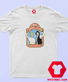 Bill and Teds Excellent Adventure Ringer T Shirt