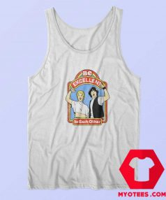 Bill and Teds Excellent Adventure Ringer Tank Top
