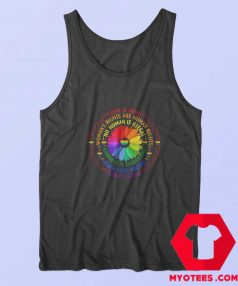 Black Lives Matter Science LGBT Funny Tank Top