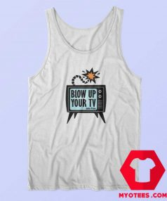 Blow up your TV John Prine Unisex Tank Top