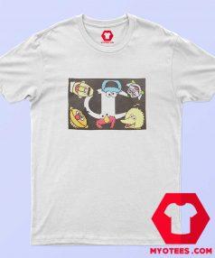 Champion x Sesame Street Character Logo T shirt