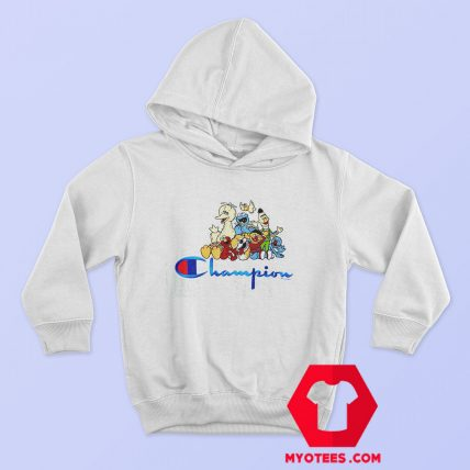 Champion x Sesame Street Family Crew Hoodie