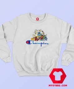 Champion x Sesame Street Family Crew Sweatshirt