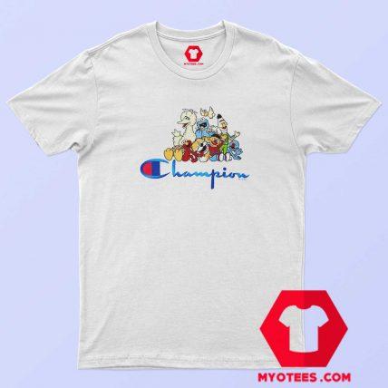 Champion x Sesame Street Family Crew T shirt