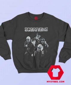 Cool Vintage Scorpions Band Sweatshirt On Sale