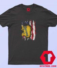 Corona Extra Beer American Flag Day T shirt