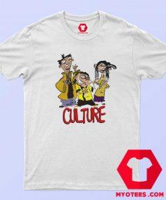 Dibujos animados divertidos Hip Hop Rapper T shirt