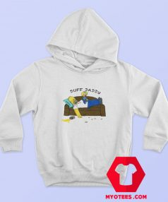 Duff Daddy The Simpsons Fathers Day Hoodie