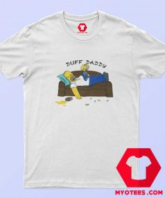 Duff Daddy The Simpsons Fathers Day T shirt